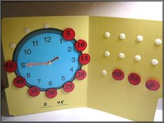 make a few of these for a station to practice putting together a clock for my firsties