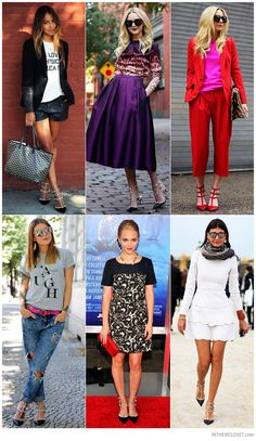 Style Bloggers and Celebrities in Valentino Rockstud Kitten Heels