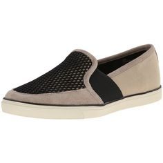 Nine West Women's Bonkers Canvas Fashion Sneaker ($24) ❤ liked on Polyvore featuring shoes, sneakers, nine west shoes, canvas sneakers, black shoes, pull on sneakers and canvas footwear