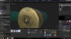 Shotgun shell substance painter - ammunition 3d model - game texture