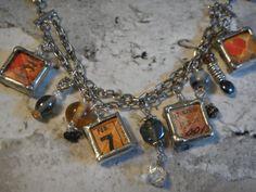 Great handmade soldered charm bracelet  $25.00