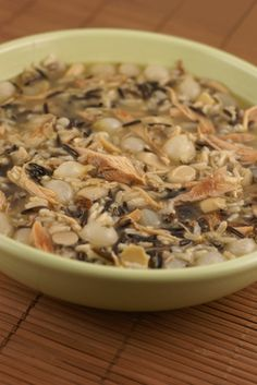 Recipe for Chicken and Wild Rice Soup with Pearled Onions | 5DollarDinners.com