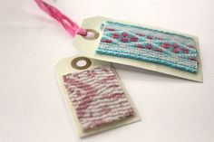 Easy Fabric Gift Tags