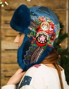 Stylish Russian Ushanka Hat