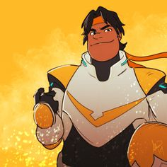 Hunk the Yellow Paladin from Voltron Legendary Defender