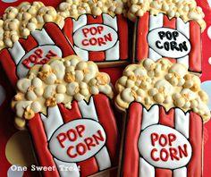 It's Movie Time! | One Sweet Treat - Cookies