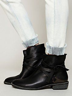 Blazer Wrap Ankle Boot in shoes-boots