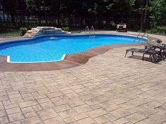When designing a pool deck, we consider the size, whether it will double as a patio; the elevation, whether there will be multilevel areas or retaining walls; and the drainage, as to where the rainwater will be transported. http://lnk.al/6gOu #InterlockingServices #DeltaClassicHomes #HomeRenovations #PremiumHomeServices #PremiumServices