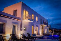WHITE Exclusive Suites & Villas - als ob der Sommer nie zu Ende geht Basalt Rock, Blue Hour, Hotel S, Accent Colors, Lisbon, Villas, Island, Mansions, House Styles