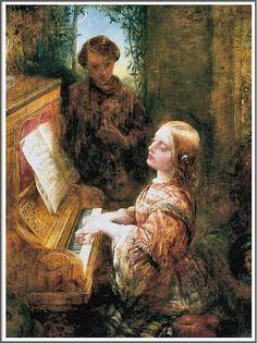 Alfred Joseph Woolmer (1805-1892), L'Hymne du Soir.