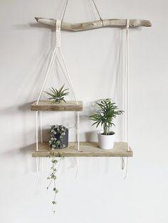 Driftwood Shelf, Floating Shelves, Hanger, Wreaths, Home Decor, Lily, Nature, Hangers, Door Wreaths
