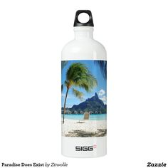 Paradise Does Exist Water Bottle