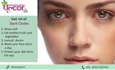 #BeautyTips #AlcorSpa Wanna Get Rid of Dark Circles?