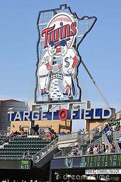 Went to Target Field to watch the Rangers play the Twins.  Nice ballpark.