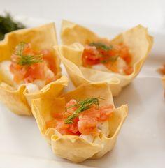 Urban Cookery: Smoked Salmon Phyllo Bites