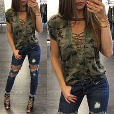 Fashion Womens Summer Short Sleeve Loose Blouse Casual Shirt Tops T-Shirt