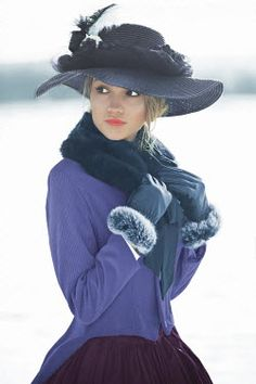 Ildiko Neer HISTORICAL WOMAN IN THE SNOW Women