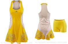 Caroline Wozniacki's dress for the 2015 French Open - #Adidas Summer Stella McCartney Barricade Dress