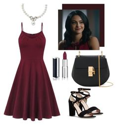 veronica lodge by fifithekitten on Polyvore featuring polyvore, fashion, style, Kate Spade, Chloé, Lord & Taylor, Givenchy and clothing