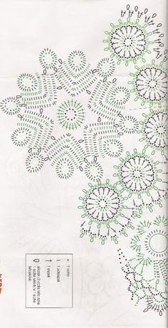 Crochet Knitting Handicraft: Napkins - the Irish and the Bruges lace Crochet Potholders, Crochet Doily Patterns, Crochet Tablecloth, Crochet Motif, Crochet Doilies, Crochet Lace, Crochet Stitches, Russian Crochet, Irish Crochet