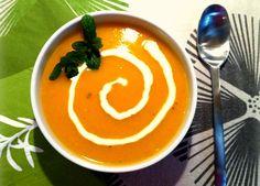 καροτόσουπα με τζίντζερ