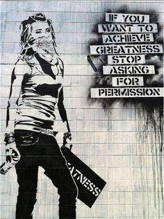 """Permission"" by artist Eddie Colla"