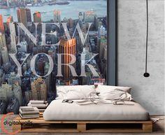 ¿Para más? Instagram @digitalwalls_wallpapers #NewYork #NuevaYork #Interiorism #InteriorDesign #Decoration #Home