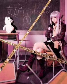 danganronpa cosplay Kyouko Kirigiri09