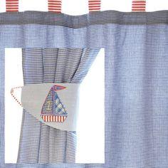 nautical shower curtains | Beach Nautical Shower Curtains