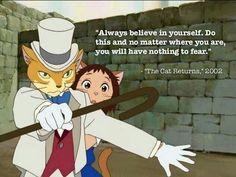 Anime, The Cat Returns.  Studio Ghibli