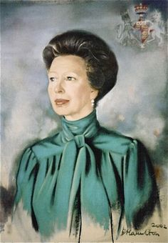 H.R.H. Princess Royal by Basia Hamilton
