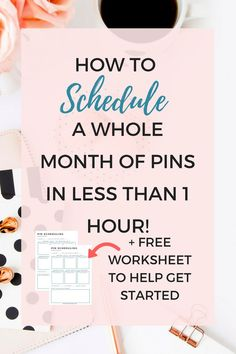 How to schedule a whole month of Pins with Tailwind in less than one hour! - Marketing Automation - Automate your social media accounts and schedule your post - - How to schedule a whole month of Pins with Tailwind in less than one hour! Marketing Quotes, Business Marketing, Business Tips, Online Business, Catering Business, Business Planning, Marketing Digital, Online Marketing, Social Media Marketing