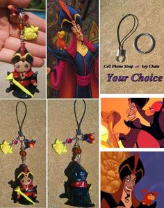 Jafar Charm Make out of polymer clay