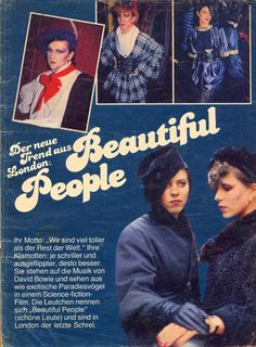 80s vintage fashion style info new wave punk Blitz Kids