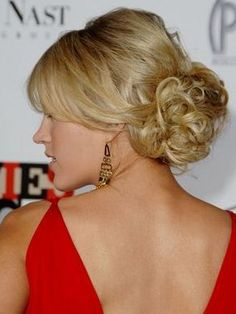 hairstyles for the plus size woman :  wedding hairstyle plus size 1 Hair Back