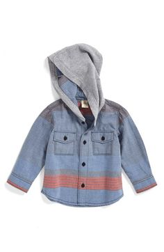 Tucker + Tate Hooded Woven Shirt (Baby Boys) available at #Nordstrom