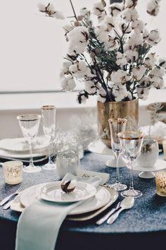 Le Frufrù: Matrimonio invernale con fiori di cotone