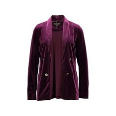 Dorothy Perkins Blazer ❤ liked on Polyvore featuring outerwear, jackets, blazers, blazer jacket, dorothy perkins jackets, dorothy perkins, purple jacket and purple blazers