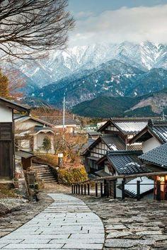 Miao Valley , Nagano, Japan