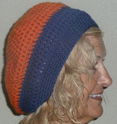 Crochet Hat Bue Orange Florida Gators Team by hatsbyanne1942, $34.00 https://www.etsy.com/treasury/NTM5ODkzNXwyNzIyNzk2NDQx/wrapping-up-christmas-for-bronco-fans