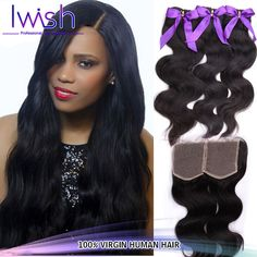 Find More Hair Weaves Information about Brazilian body wave hair Rosa Hair Products Brazilian virgin hair 1pcs Lace Closure with 3pcs Hair Bundles Brazillian Body Wave ,High Quality Hair Weaves from Iwish Hair Products Co.,Ltd on Aliexpress.com