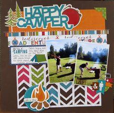 Happy Camper - Scrapbook.com 2 photos