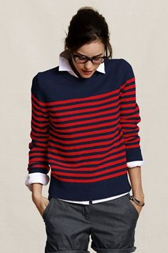 this would be nice.  sweater from land's end canvas.