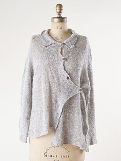 now i just need someone to knit it for me.... This is to die for -- would love to have a pattern