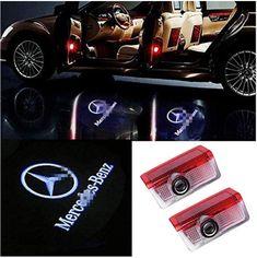Automatisches Einschalten bei Öffnen der Türen Led Logo, Mercedes Benz, Autos, Car Lights, Lighting, Advertising