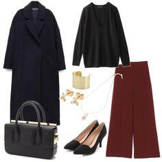 オトナ女子アウター5 Office Fashion, Business Fashion, Business Style, Tokyo Streets, Tokyo Street Style, Japan Fashion, Work Wardrobe, Everyday Outfits, Fasion