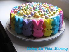 Peep Cake for my peeps! | Living La Vida Mommy