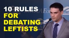 Rules for debating leftists Liberal Politics, Political News, Difference Of Opinion, Ben Shapiro, Radio Talk Shows, Democratic Socialist, Conservative News, God Loves Me, Trending Topics