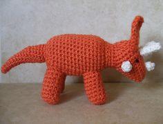 Ravelry: Pentaceratops pattern by Joy Koestner