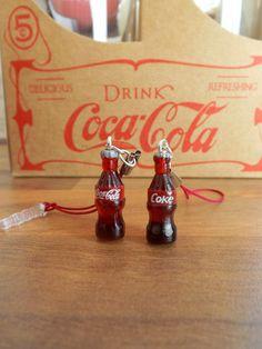 Coke Coca-cola bottle Phone/Kindle/Tablet/Ipad charm/dangle/dustplug custom by ShadowsATmidnight on Etsy https://www.etsy.com/listing/116588309/coke-coca-cola-bottle